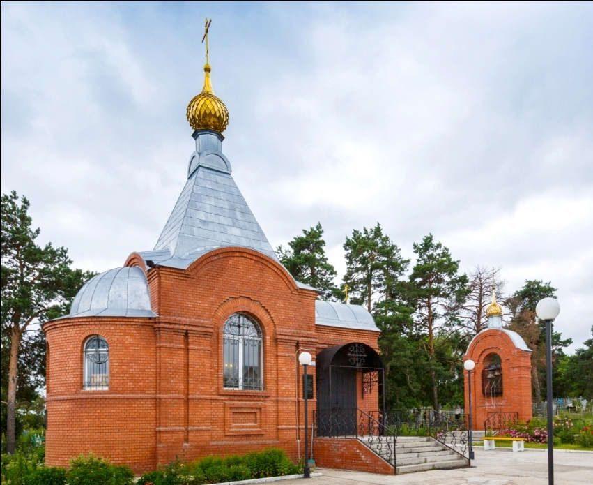 Храм-часовня во имя св. мц. Зои с. Репное