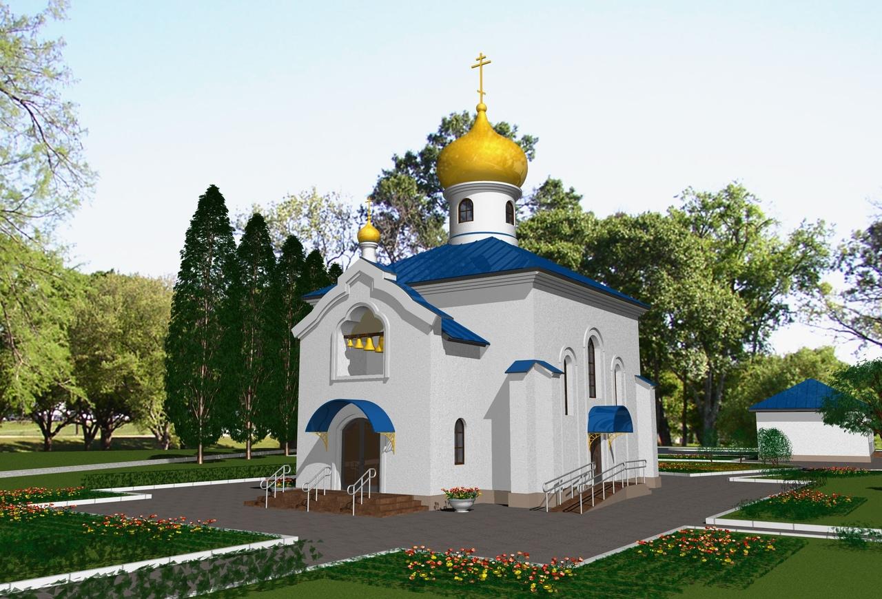Покровский храм с. Б. Мелик. Проект.