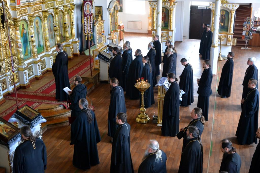 Состоялась исповедь духовенства Балашовской епархии