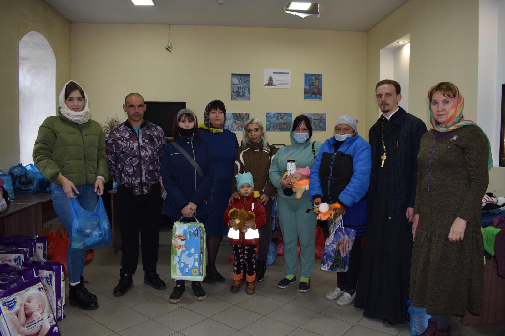 Семьи Ртищевского района получили гуманитарную помощь