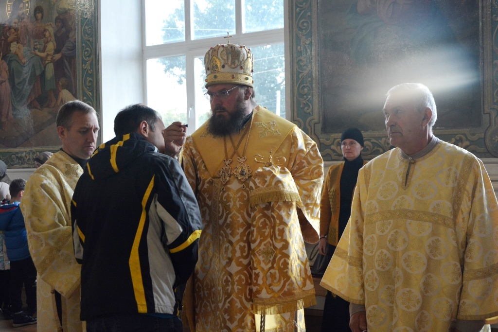 Всенощное бдение в кафедральном соборе Архангела Михаила г. Балашова
