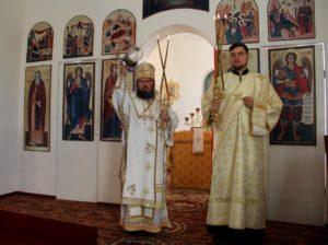 Божественная литургия в храме Архистратига Михаила р.п. Самойловка