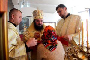 Божественная литургия в Покровской храме с. Б.Мелик