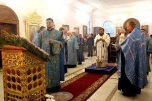 Всенощное бдение в Покровском женском монастыре г. Балашова