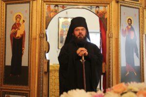 Божественная литургия в Покровском храме с. Пады
